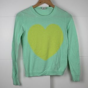 Girls Size 14 J Crew Heart Sweater